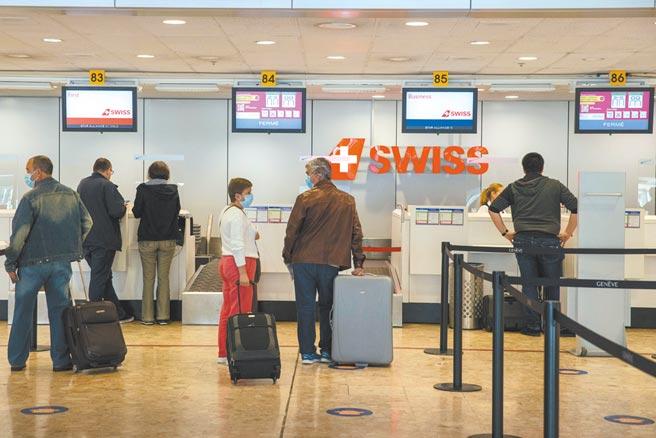 瑞士公投防疫政策圖╱美聯社