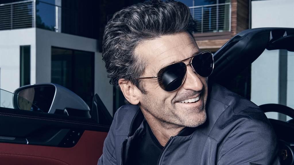 好萊塢明星賽車愛好者Patrick Dempsey成為Porsche Design Eyewear代言人