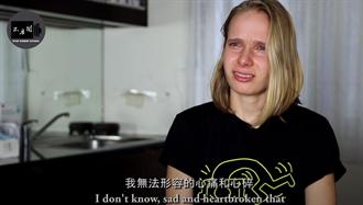 俄羅斯妹遊小琉球 目睹這一幕淚崩了:台灣美麗又可怕