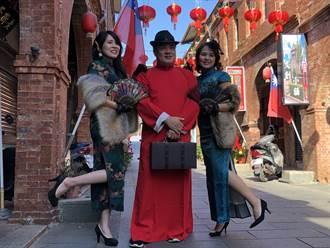大紅燈籠高高掛 金門模範街吸引打卡人潮