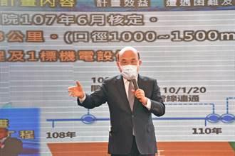 《經濟》蘇貞昌:解決用水問題 盼未來全台水資源互通有無
