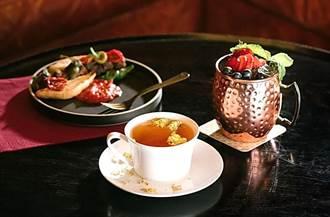 粉紅餐食好吸睛 慕軒飯店URBAN331酒吧莓果午茶開賣