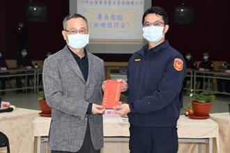 警方加強安全維護工作 陳家欽現身大湖警分局慰問打氣