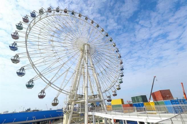春節期間台中市很多遊樂場、商場將吸引很多人潮出遊。(盧金足攝)