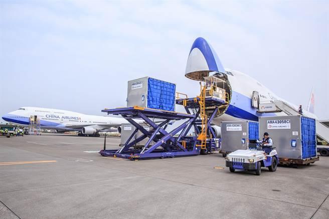 華航冷鏈認證運送可至-80°C。(華航提供)