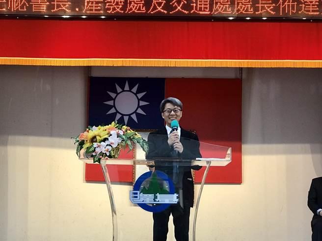 產業發展處長黃駿逸升任秘書長。(陳彩玲攝)