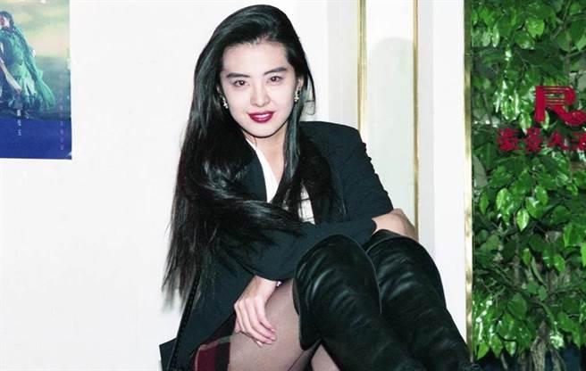 王祖賢曾是當紅女明星。(圖/中時資料照)