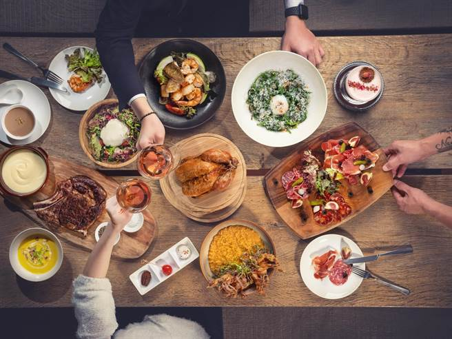 S Restaurant & Bar提供歐陸料理創意美饌,2月10日至3月7日推出之春節雙人分享餐。(S HOTEL提供)