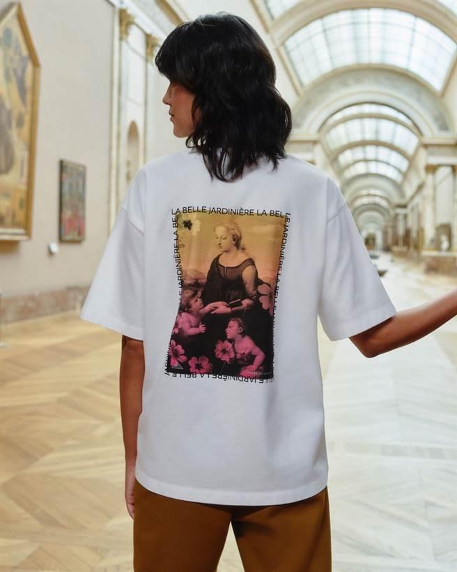 女裝Louvre Museum UT,590元。(UNIQLO提供)