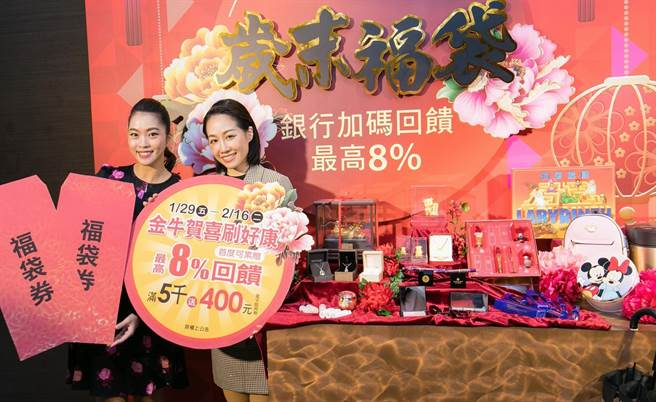 SOGO台北店將福袋商品數量增1成,販售日期從初三延長至初五。(SOGO提供)