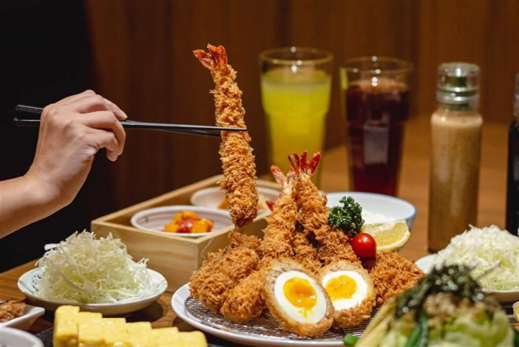 捷利國際餐飲旗下邁泉豬排搶春節聚餐商機,首度引進日本式團圓膳套餐。(圖/捷利國際餐飲集團)