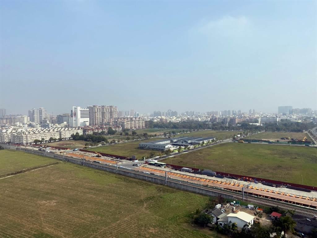台南開發動能強,帶動土地交易量攀新高。(台灣房屋集團提供)