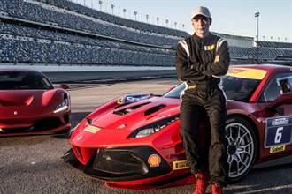 知名演员吴彦祖体验Ferrari 488 Challenge Evo赛车的精准驾驭