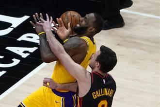 NBA》家有一老如有一寶 湖人靠至尊寶詹姆斯擊殺老鷹