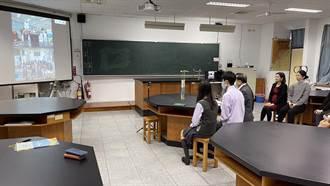 不受疫情影響 新民高中師生視訊與日學校交流