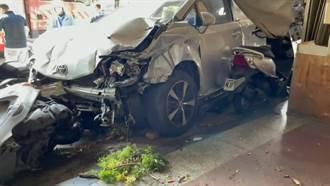 6青年租车出游台东 失控连撞2民宅毁11车酿4伤