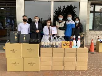 桃市議員、基金會挺醫護 贈送物資慰勞醫護人員