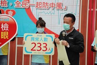 嘉義縣力推心房顫動大篩檢 1年揪出233名患者