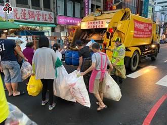 各縣市春節垃圾清運表出爐 初一起停止收運垃圾