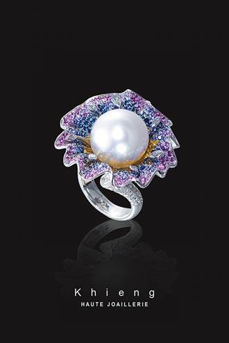 方国强珠宝嬉春花朵盛开
