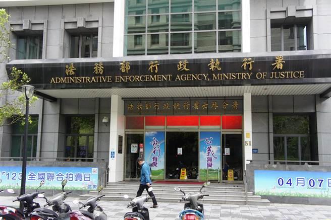 法務部行政執行署公布最新禁奢令,前立委郭政權再被禁奢。(本報資料照片)
