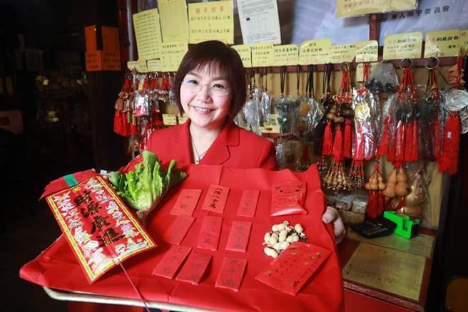 香港向觀音借的庫錢不是真錢,而是寫在紅包袋外的吉祥數目。圖/香港旅遊發展局提供