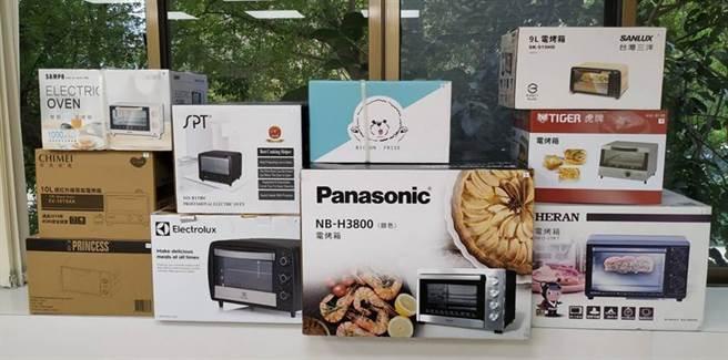(經濟部標準檢驗局與財團法人中華民國消費者文教基金會合作針對市售「電烤箱」主動進行查核,檢測結果全部符合規定。圖/標檢局提供)