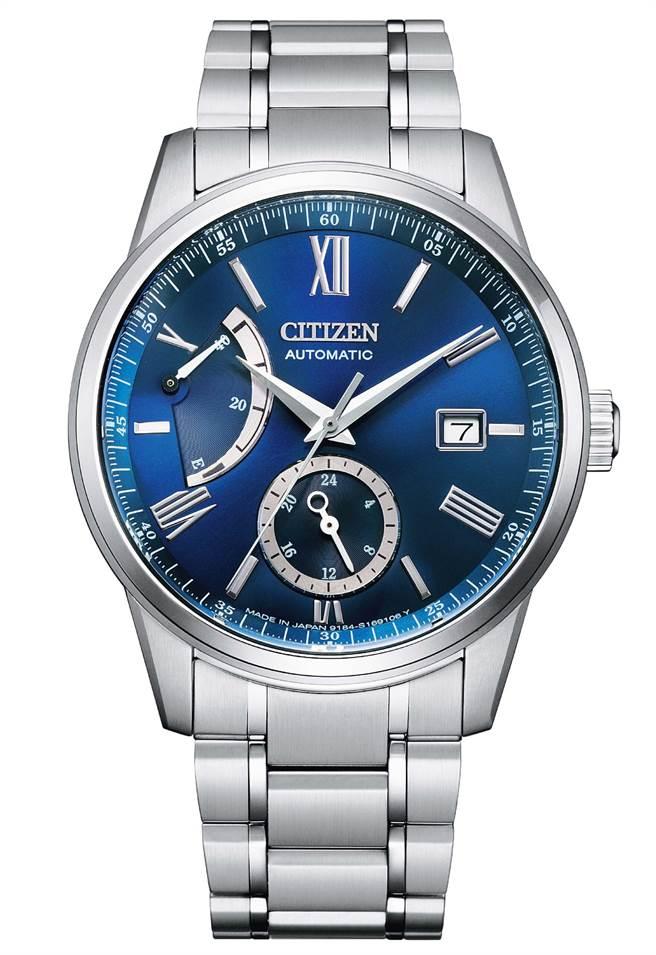 CITIZEN正能量動儲紳士機械腕表,2萬9800元。(CITIZEN提供)