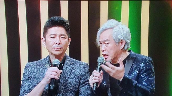 荒山亮(左)與康康(右)為演唱曲目合體排練一週。(AMM亞洲心動娛樂提供)
