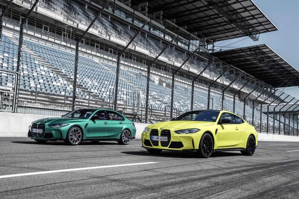 全新BMW M3 Competition與M4 Competition預售起跑。