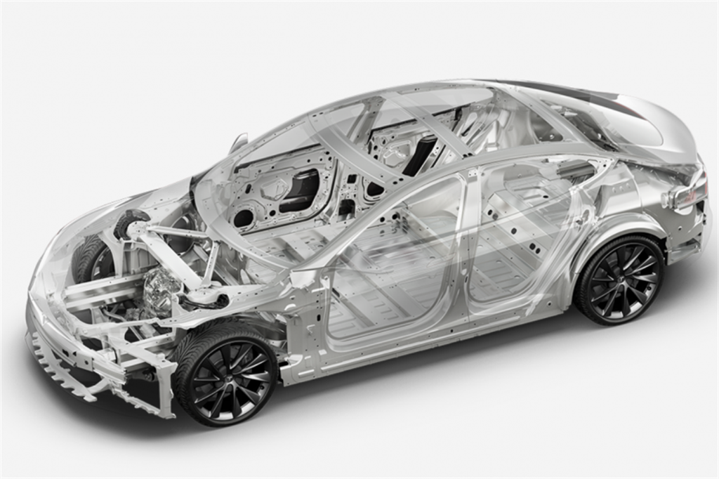 特斯拉產線顯示新版 Model X/S 車體組件簡化,或有機會改善公差問題?