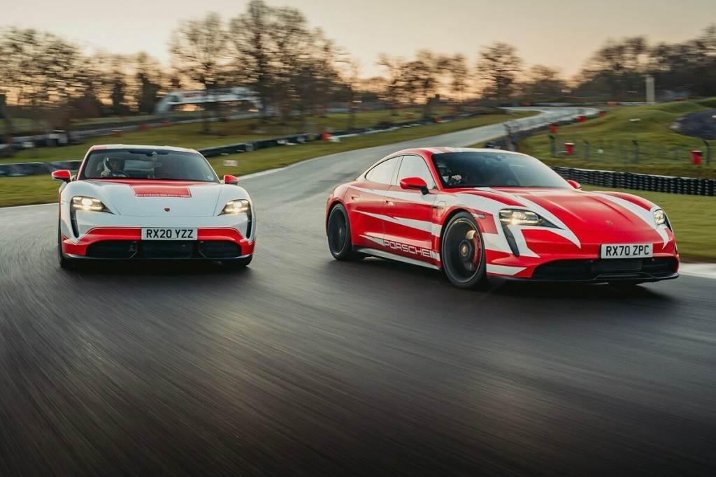 Porsche Taycan在英國打破13項耐力賽紀錄