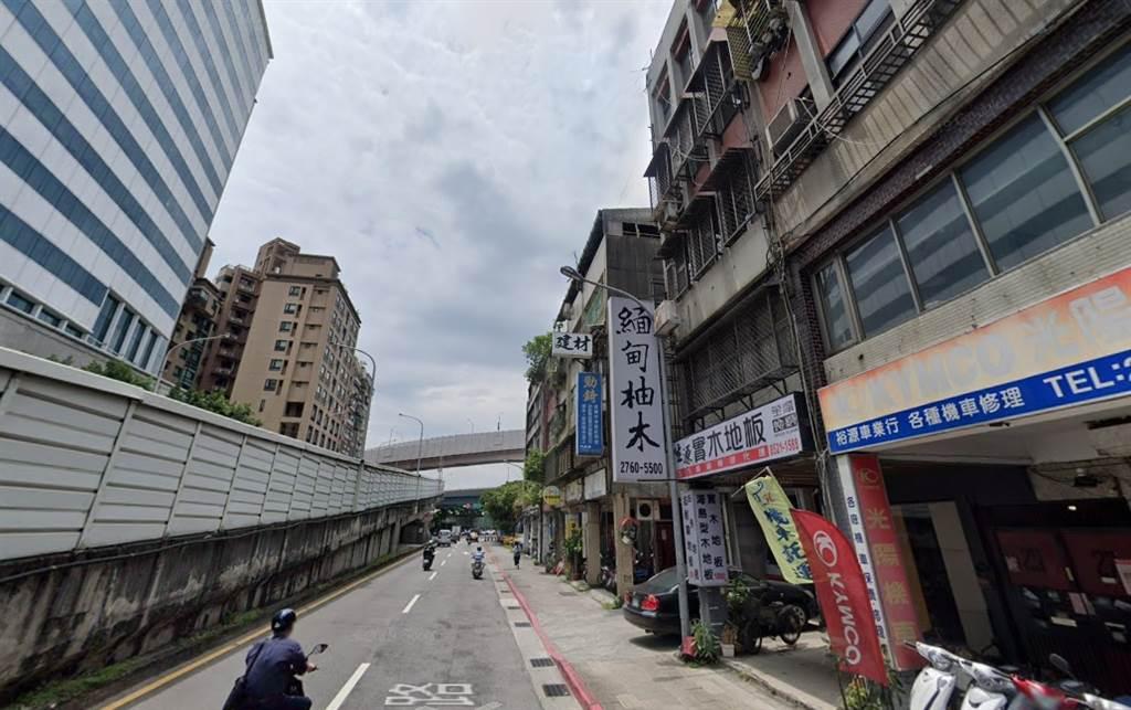新潤建設砸15億4290萬元,買下北市信義區永吉路老透天厝。(翻攝自Google街景)
