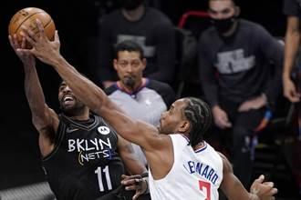 NBA》三巨頭對決三巨星 籃網技高一籌險勝快艇