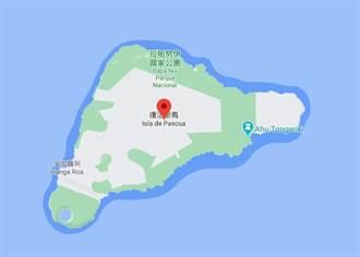 智利復活島東南方海域6.6強震 無海嘯危險