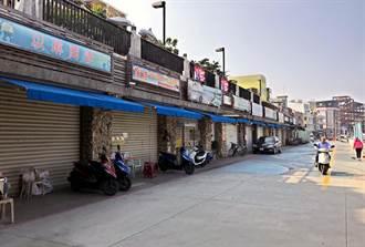 小琉球门面落漆 白沙港商店街重新招商