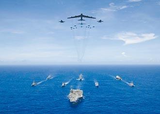 美軍高調闖亞太 共軍嗆隨時備戰