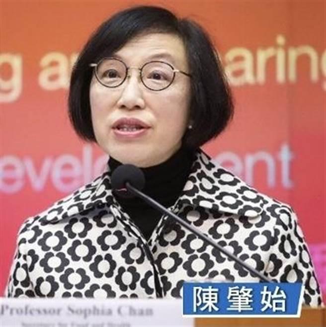 香港衛生局局長陳肇始。(取自東網)