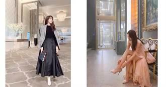 上流战争女主角李智雅超会穿 私下IG穿搭风格也有型