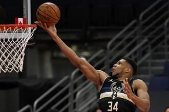 NBA》公鹿字母哥與太陽布克獲上周東西區最佳
