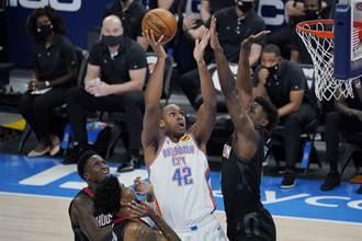 NBA》少沃爾就不行 火箭遭雷霆中斷6連勝