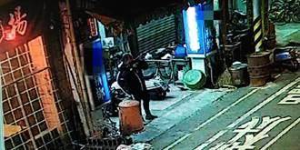 台南男子拿玩具槍射壞警用監視器 反遭錄影存證