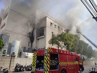 太巧合?桃園欣興電子火警 起火點疑與去年同大樓