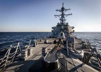 拜登任内美舰首穿越台海 坚守印太自由开放承诺