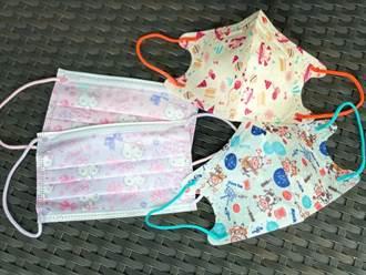 Hello Kitty兒童口罩來了 全聯同步開賣馬卡龍色口罩