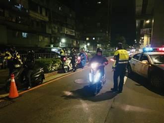 海山警1周交通大執法 取締酒駕9件、闖紅燈61件