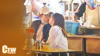 韋禮安與新女友當街熱吻