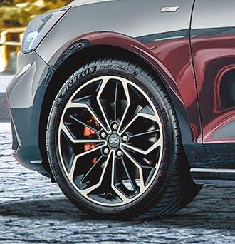 Ford Focus挑戰賽 米其林輪胎征戰賽道