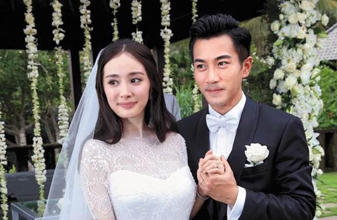 楊冪和劉愷威離婚後,兩人一舉一動仍備受矚目。(圖/取材自微博)