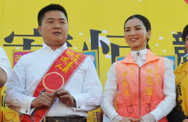 顏寬恒3次結婚新娘同一人。(圖/中時資料照片)